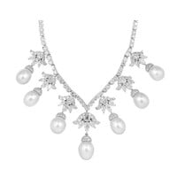 South Sea Pearl & Diamond Necklace