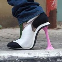 Weird High Heels, Not For Your Feet