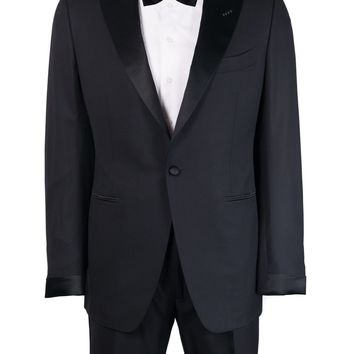 Tom Ford Black O'Connor Wool 2Pc Shawl Evening Suit