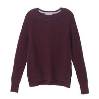 Contrast-trim Crewneck Sweater - Victoria's Secret