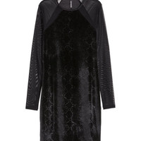H&M Crushed velvet dress £14.99