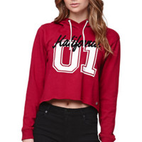 Kendall and Kylie Cropped Pullover Hoodie at PacSun.com