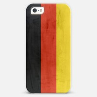 Germany flag iPhone 5s case by WAMDESIGN | Casetify