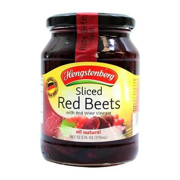 Hengstenberg Sliced Red Beets, 12.5 oz (370 g)