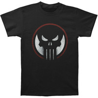 Punisher Men's  Dead Sight Slim Fit T-shirt Black Rockabilia
