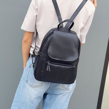 Lydztion Fashion Backpack Women Fashion School Bags For Teenagers Girl Laptop Travel Hand Backpack Leisure High Quality Rucksack