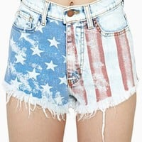 Born Free Cutoff Shorts