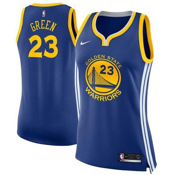 Women's Golden State Warriors Draymond Green Nike Blue Swingman Jersey - Icon Edition