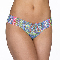 Hanky Panky Signature Lace Low-Rise Thong - Spring Zoe