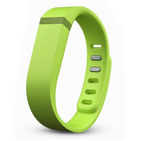 Replacement TPU Rubber Small Size Wrist Band for Fitbit Flex Smart Devices (Lime)