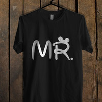 Mr Mrs disney Couple men  Mens T Shirt and Womens T Shirt *76*