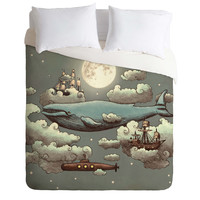 Terry Fan Ocean Meets Sky Duvet Cover