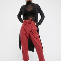 Free People Heart Stopper Crossover Trouser
