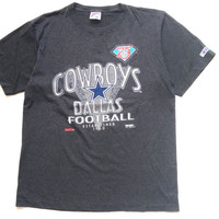 Vintage graphic tee. 90's Dallas cowboys t-shirt