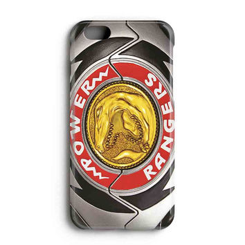 "Apple Iphone 6 4.7"" Case - The Best 3d Full Wrap Iphone Case - Red Ranger Power Morpher"