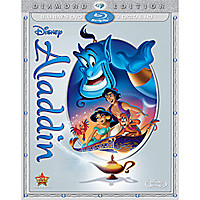 Aladdin Diamond Edition Combo Pack Pack with FREE Lithograph Set Offer - Pre-Order