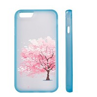Cherry Blossom Clear Transparent Plastic Phone Case/Phone Cover for iphone 6 6s _ SUPERTRAMPshop (ip 6 TPUG)