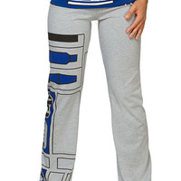 R2-D2 Ladies' Yoga Pants - Heather,