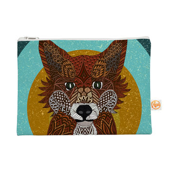 "Art Love Passion ""Colored Fox"" Blue Orange Everything Bag"