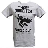 Quidditch World Cup Adult Silver T-Shirt |