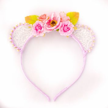 Stazi Bear Ears Headband