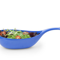 Kikkerland Design Inc » Products » Whale Serving Bowl Blue