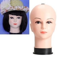 Real Female Mannequin Head Model Wig