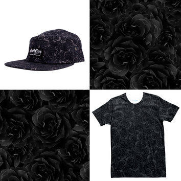 NYX Tee and 5-Panel Hat Combo