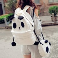 Sweet Panda Mother Backpacks with Panda Child Messenger Bags : Wholesaleclothing4u.com