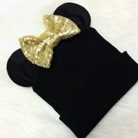Baby Sparkle Bear Beanie from Shelby Chic Boutique