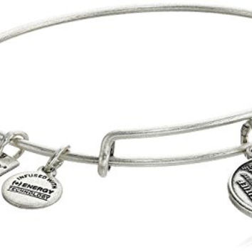 Alex and Ani Charity By Design Joe Andruzzi Foundation Rafaelian Silver Bangle Bracelet