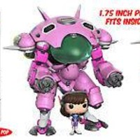 Funko Pop Games: Overwatch - D. VA with Meka
