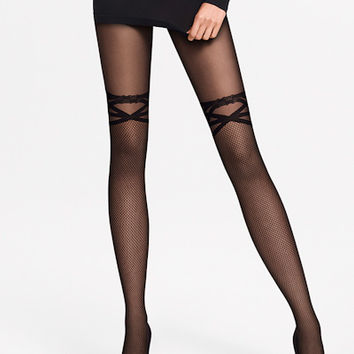 Wolford: Katy Net Tights | Nancy Meyer