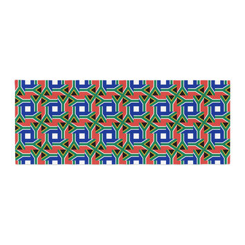 "Bruce Stanfield ""South Africa"" Multicolor Bed Runner"