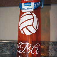 Personalized .75L Camelbak Bottle - Volleyball Monogram