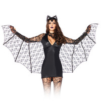 Halloween Cosplay Bat Costumes Demon Witch Sexy Uniform