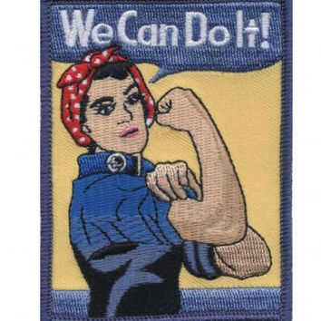 Rosie the Riveter Patch - World War II