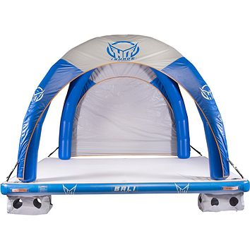 HO Sports iShade Inflatable Water Mat with Shade