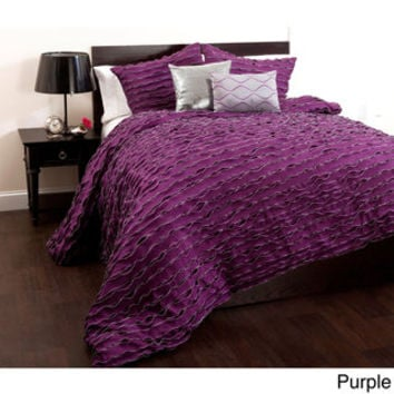 Lush Decor Modern Chic 5-piece Comforter Set | Overstock.com