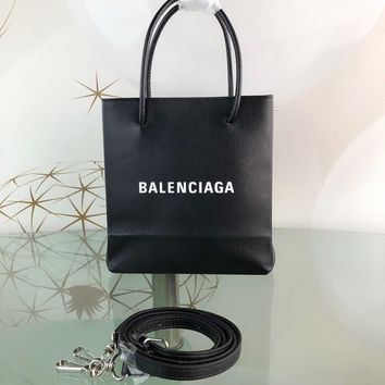 DCCK Balenciaga Fashion Women Men Gb49619 Shopping Bag The Mini