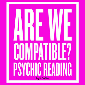 Are We Compatible Psychic Reading, Psychic Reading, Love Reading, Relationship Reading, in-depth and accurate, email or etsy convo reading