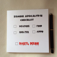 Zombie Card, Walking Dead Card, Funny Birthday Card, Special Occasion Card