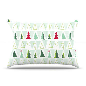 "Allison Beilke ""Pining for Christmas"" Christmas Holiday Pillow Case"