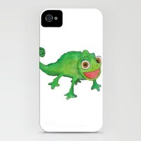 Pascel (From Tangled) Watercolor iPhone Case by Kayla Gordon | Society6