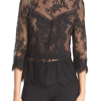 Tracy Reese Chantilly Lace Victorian Blouse | Nordstrom