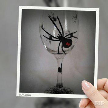 Drink Up Witches,Halloween Wine Glass Decals, Halloween Party Favors, Wine Glass Decal for the DIY in you, Custom Wine Glass Decals, Spiders