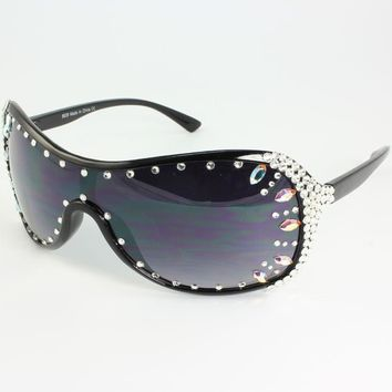 ROXY SWAROVSKI CRYSTAL SUNGLASSES