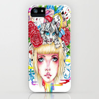 You're All Mad iPhone Case by Krista Rae   Society6