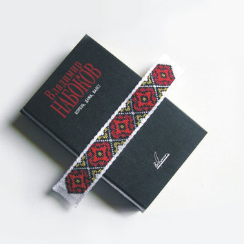 Unique Bookmark Ukrainian Embroidery