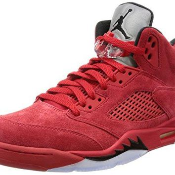 Nike Jordan 5 Retro Mens Red/Black Suede  nike air jordan